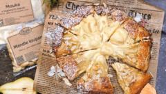 Hrušková galetka s mandlovými kousky. Jak na ni  podle foodblogera?