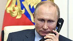Putin chce s Bidenem hovořit v přímém přenosu. Pojďme pokračovat v lednovém rozhovoru, přeje si