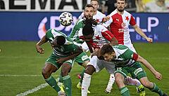 Zápas v pražském Ďolíčku skončil remízou. Slavia ještě neslaví, ale má rekord v neporazitelnosti