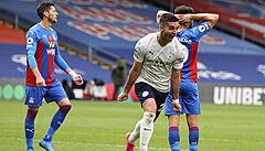 Manchester City porazil Crystal Palace 2:0 a v neděli může oslavit titul