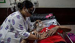 Varování před 'covidovou katastrofou': Černý scénář z Indie se může naplnit i jinde ve třetím světě