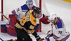 David Pastrňák dal v NHL 200. gól a překonal Orra, skóroval i Vrána