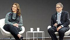 Nejdražší rozvod historie: Gatesovi se seznámili v Microsoftu, jejich dcera jezdí parkur jako Kellnerová