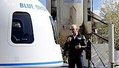 Nejbohatší muž světa Bezos poletí za měsíc do vesmíru. O tomhle jsem snil od pěti let, uvedl