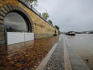 Pražské náplavky byly od 14. května uzavřené kvůli riziku povodně. Vedení města...