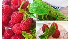 Tři recepty na bylinkové pomazánky. Zkuste maliny s mátou nebo mrkev a kari