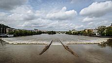 Do Česka se vrátí vydatný déšť. Hladiny některých řek ještě budou stoupat, varují meteorologové