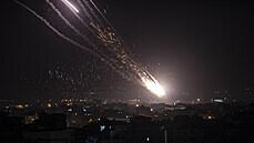 V noci pokračovaly střety mezi Izraelem a palestinským Hamásem, příměří se zatím zřejmě nechystá