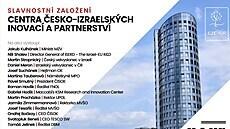 Vzniklo nové česko-izraelské inovační centrum. Cílit bude i na průlom u Parkinsona