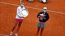 Plíšková titul v Římě nezískala, ve finále dostala od Polky Šwiatekové dva kanáry