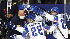 VIDEO: Slovenská euforie trvá, mladý tým skolil i Rusy. Hráli jsme strašně, bouří legendární Michaljov