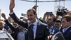 Bašár Asad byl znovu zvolen prezidentem Sýrie, zemi tak povede dalších sedm let