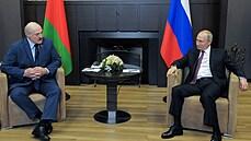 Jednání Putina s Lukašenkem pokračuje. Hlavním úkolem je dostat Bělorusy z Evropy domů, shodli se lídři