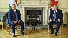 Johnson se sešel s Orbánem. V Londýně premiéři 'prohlubovali vztahy' a domlouvali možnou spolupráci