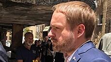 Kulhánka přijal Netanjahu. Šéf české diplomacie navštívil poničenou čtvrť Petah Tikva i baterii Iron Dome