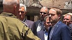 REPORTÁŽ: Jen 90 vteřin na útěk před raketou Hamásu. Kryt má v Izraeli i česká ambasáda