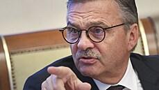 'Je to nepřijatelné.' Fasel zkritizoval stažení běloruské vlajky na hokejovém mistrovství světa