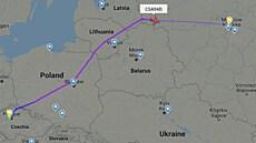 ČSA a Smartwings reagují na vyvlečení novináře Prataseviče z letadla. Začaly oblétávat Bělorusko
