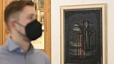Obraz Noční slavnost od malířky Toyen se prodal za 36 milionů korun. Vyvolávací cena díla byla o 16 nižší