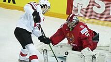 Hokejisté Švýcarska porazili Bělorusko a jsou krok od čtvrtfinále, Italové pohořeli s Kanadou a zůstávají bez bodů