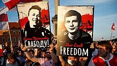 'Bojím se, že nebudu nikdo.' Pratasevičova přítelkyně popsala pocity z běloruské vazby