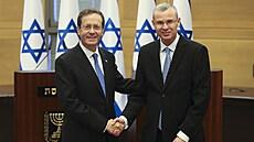 Izrael má nového prezidenta. Parlament jím zvolil labouristu Herzoga, ve funkci nahradí Rivlina
