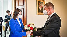 Babiš s Cichanouskou hovořil o politické situaci, pomoci i zadrženém novináři. Běloruska se dále sejde s opozicí
