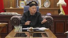Diktátor Kim Čong-un přiznal, že Severní Korea čelí zásadnímu nedostatku potravin