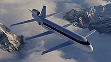 Revoluce v létání? Američané představili neobvyklé dopravní letadlo se šesti křídly