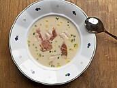 Krémový bílý chřest. Jak na polévku z něj poradí Jan Punčochář