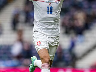 Euro 2020: Skotsko - Česko (Patrik Schick slaví druhý gól)