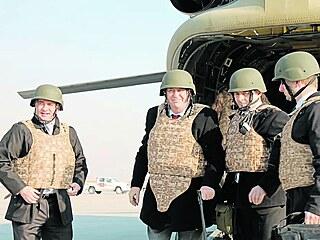 Jako jednat s Hitlerem, tak Miloš Zeman vidí vyjednávání s Talibanem....
