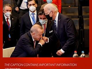 Erdogan s Bidenem