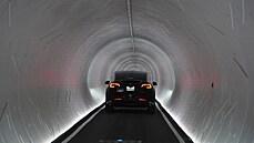 Muskův tunel ve Vegas přinesl rozpačité výsledky. Lidi vozí 62 vozů Tesla, ale jen 1,5 kilometru