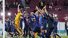 Dánové v duelu ME přerušeném po kolapsu Eriksena podlehli Finům 0:1