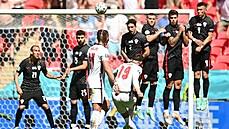 Anglie v úvodním zápase 'české' skupiny mistrovství Evropy porazila Chorvatsko 1:0
