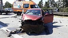Na popraskané dálnici vznikla škoda za více než milion korun. Horko vyřadilo úsek mimo provoz na minimálně pár dní