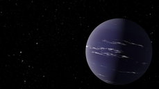 Vědci objevili ve vesmíru novou planetu. Mohly by kolem ní být mraky plné vody