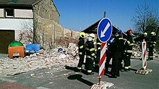 Majitele zdi v Praze, která se zřítila a usmrtila muže, potrestal soud podmínkami