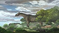 Na Zemi žil obří nosorožec vyšší než žirafa. Číňané objevili dosud neznámý druh starodávného savce