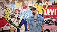 Pasta Oner vytvořil pro nový obchod fresku přes celou stěnu