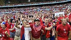 Čeští fanoušci na čtvrtfinále proti Dánsku v Baku nakonec letadlo nevypraví, zájemců bylo málo