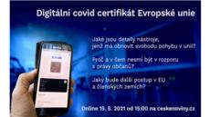 Živě o covid certifikátu EU: shrnutí slovem a videem