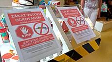 Majitelka obchodu v Olomouci zakázala vstup očkovaným mRNA vakcínami proti koronaviru