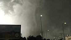 Tornádo se v Česku předpovědět nedá. Nedokážou to ani lovci bouřek, popisuje meteorolog vznik nebezpečného jevu