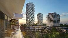 UNESCO zasáhlo do projektu na Žižkově. Architektka musí návrh rozvlněných věží změnit