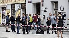 Policie obvinila střelce z Prahy z několika činů včetně vraždy, žádá vazbu