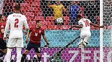 Češi prohráli s Anglií 0:1 gólem Sterlinga z 12. minuty a do osmifinále jdou ze třetího místa