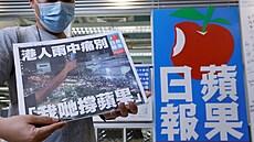 MOORE: Hongkongské zakázané jablko. Peking definitivně ukočil éru svobodného tisku