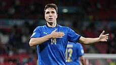Italové zdolali Rakousko 2:1 po prodloužení a jsou ve čtvrtfinále. O vítězství rozhodli střídající hráči